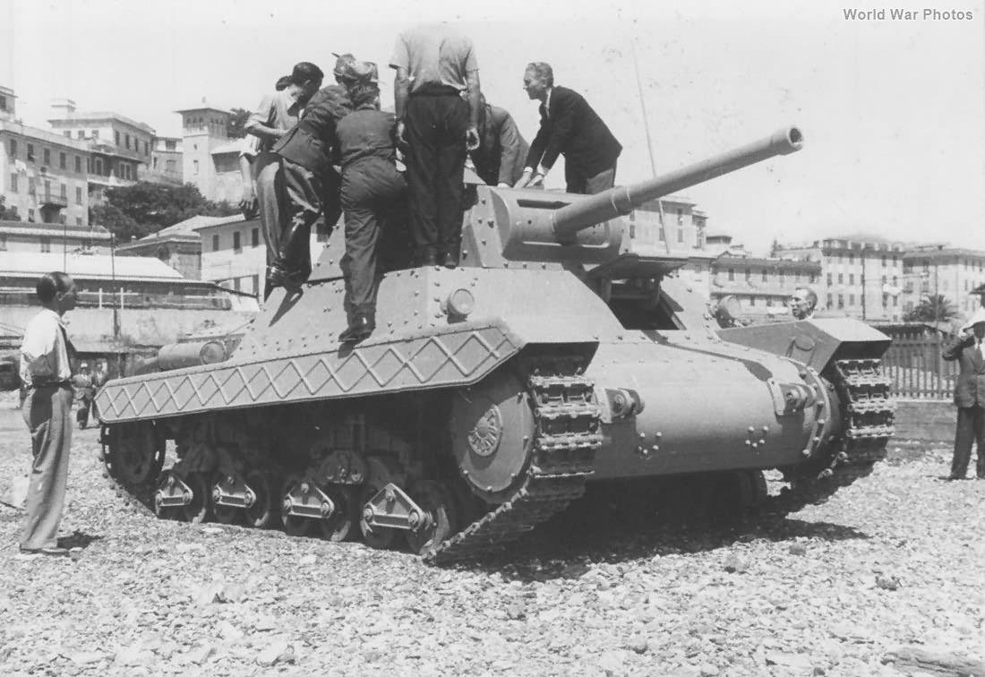 Carro Armato P 40 1942 8