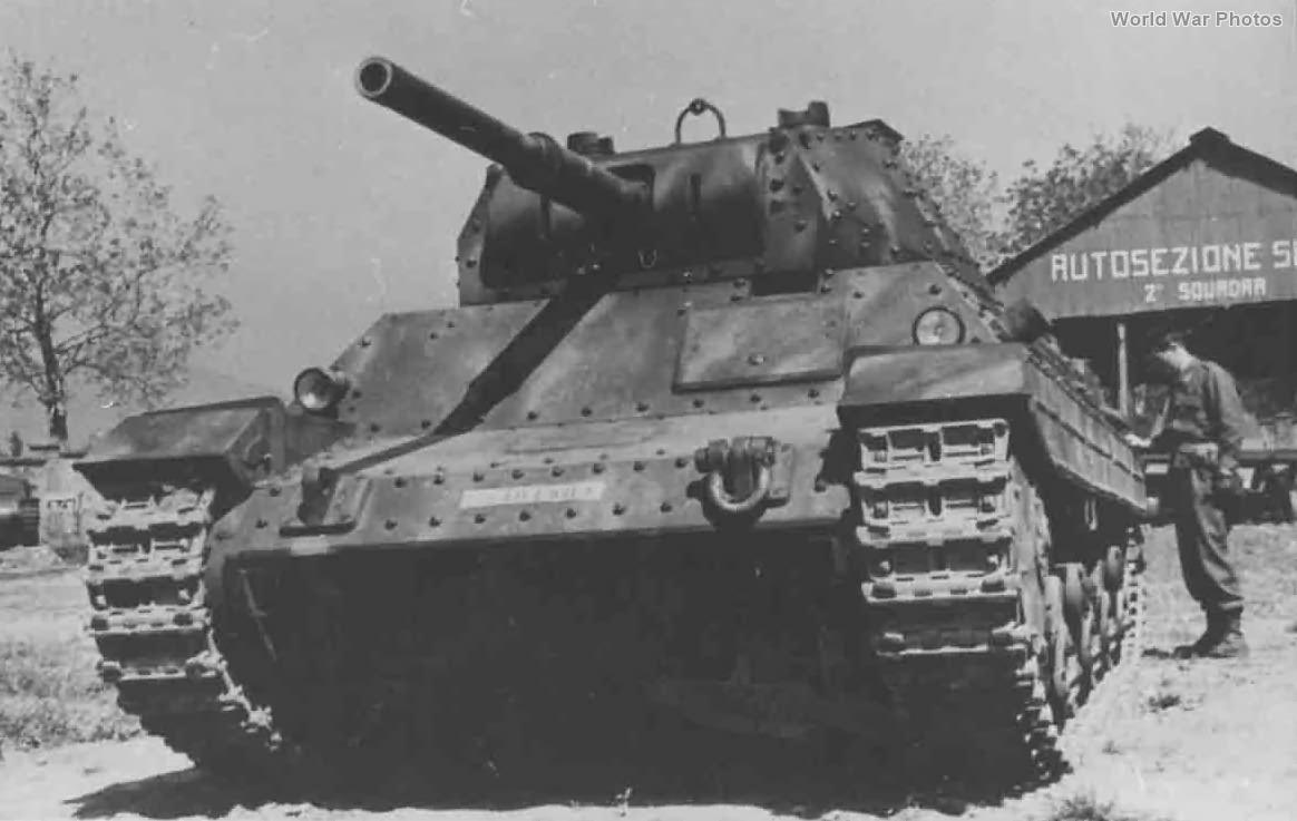 Carro Armato P 40 1945