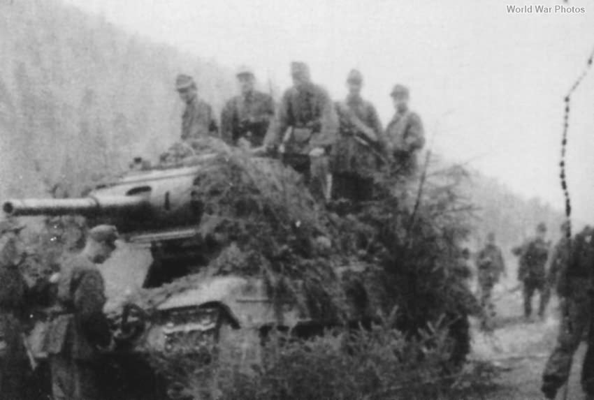 Panzerkampfwagen P40 737(i) 5