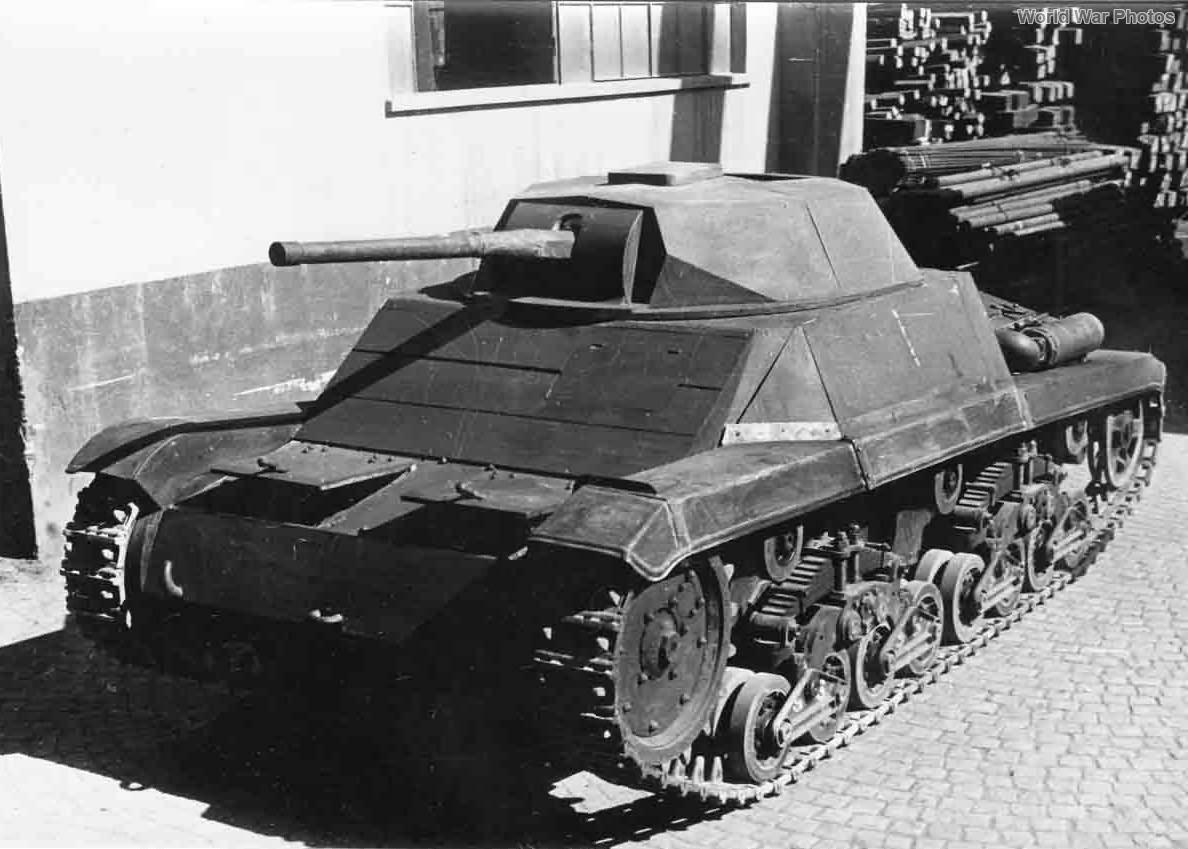 Ansaldo P40 mock up 1943