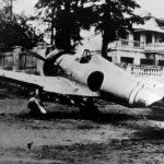 Captured A5M2b 9-122 of the 14 Kokutai China