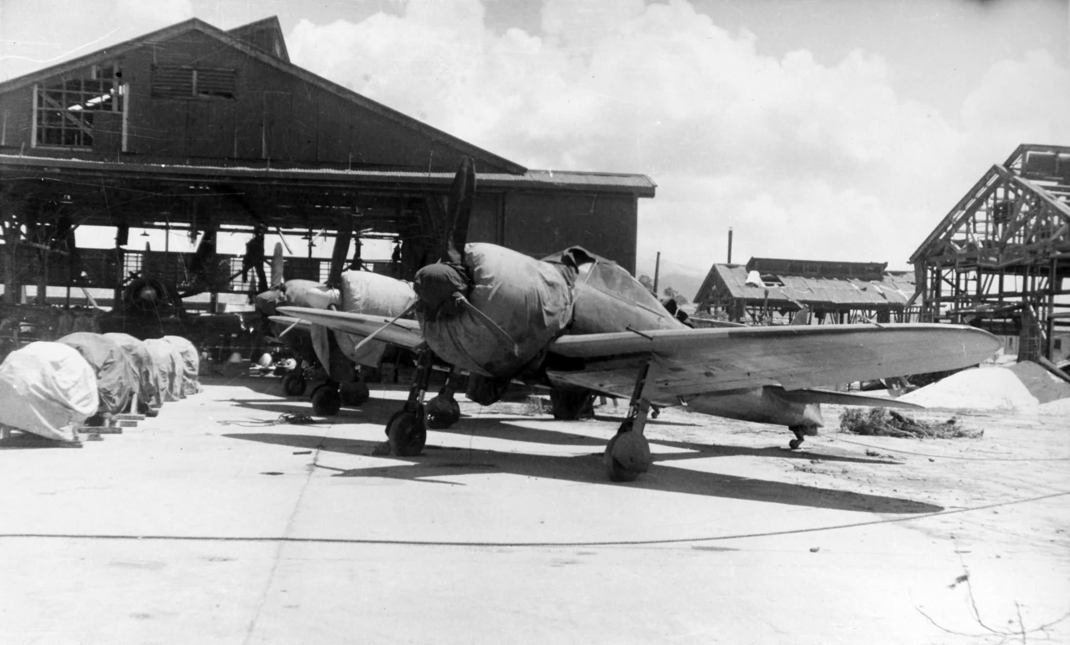 A6m5 Zero Fighters Aslito Airfield Saipan World War Photos