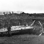 A6M2-N Rufe wreck on Attu Island Aleutians 1943
