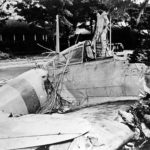 A6M2 Zero AI-154 flown by Takeshi Hirano and crashed at Fort Kamehameha Pearl Harbor