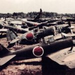 A6M5 Zero YoD-135 of 302nd Kokutai, Atsugi 1945 – color photo