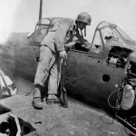A6M5 Zero Saipan with M1 Carbine armed Marine 1944