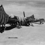A6M5 Zero fighters found on Saipan 1944