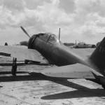 A6M Zero of the 261 Kokutai code 61-131 on Saipan 1944