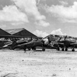 A6M Reisen fighters 61-197, 8-07, 8-33 and 8-36 of the 261st Kokutai - Saipan 1944