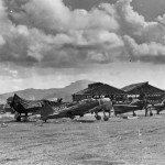 A6M Zero fighters captured on Saipan 1944