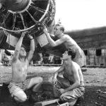 Captured RAAF A6M Zero Morotai 1945