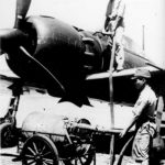 Mitsubishi A6M5 Zero being fueled for mission Saipan 1944