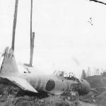Mitsubishi A6M Zero 157 wreck
