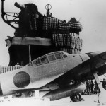 Mitsubishi A6M Zero on carrier Akagi