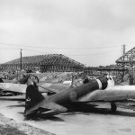 Mitsubishi A6M Zero (Zeke) fighters