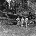 Wreck of the B6N Tenzan
