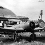 D3A Val boneyard at Atsugi Air Base 1945