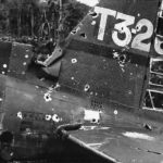 Wreckage of Aichi D3A1 Model 11 T3-261 of 582nd Kokutai Munda 1943