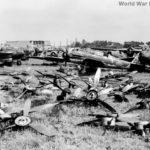 D4Y wreck at Atsugi Airbase Japan August 1945
