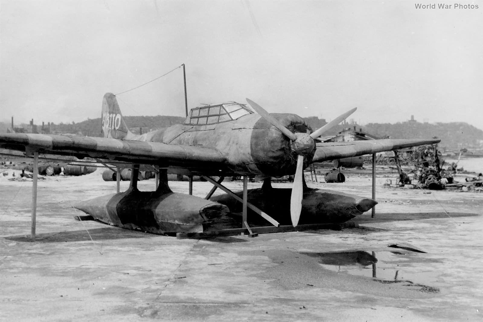Dummy Aichi E13A Balikpapan July 1945