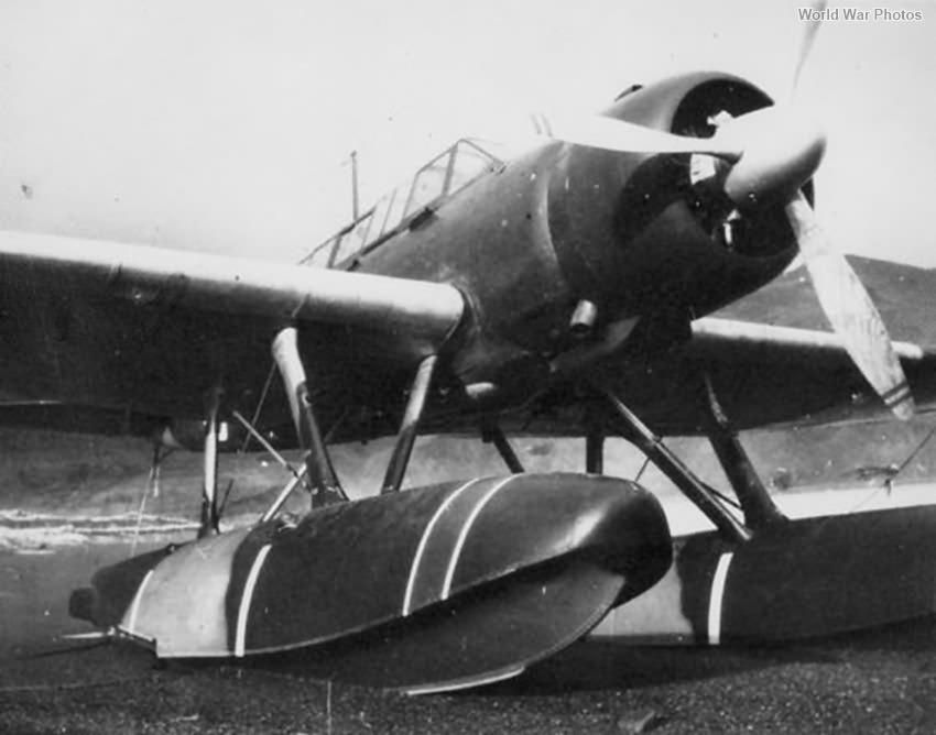 E13A Aleutians 1942