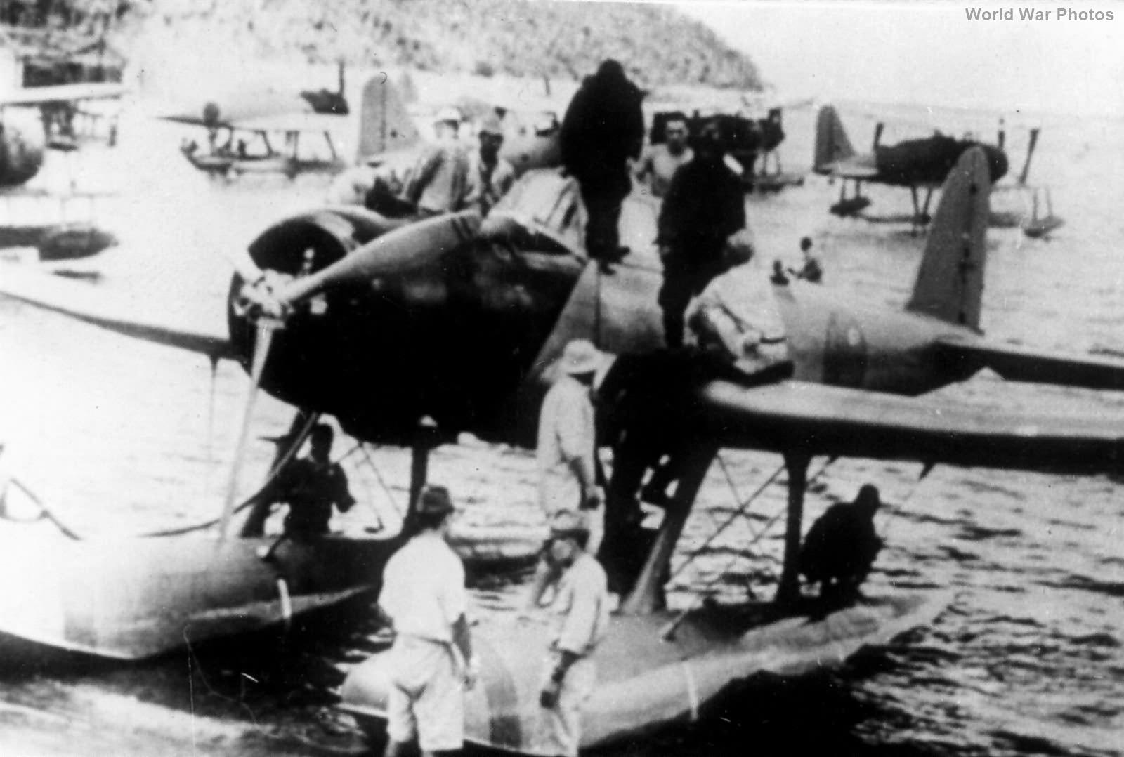 E13A from Kamikawa Maru 1942