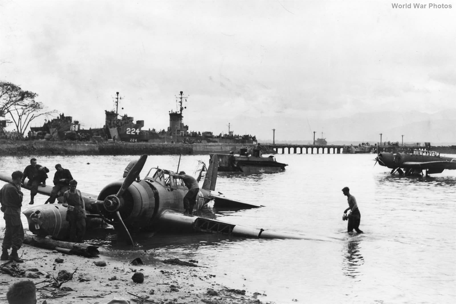 E13A Palawan Philippines 1945