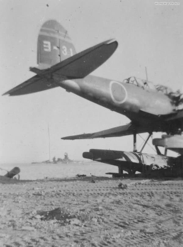 E13A ヨ-31 of the Yokosuka Kokutai