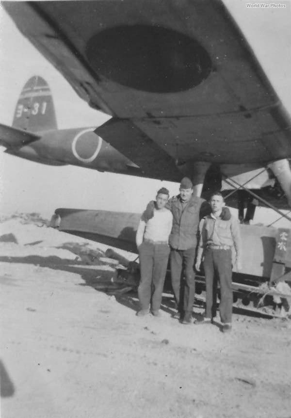 Captured E13A Yo-31 of the Yokosuka Kokutai, 1945 2