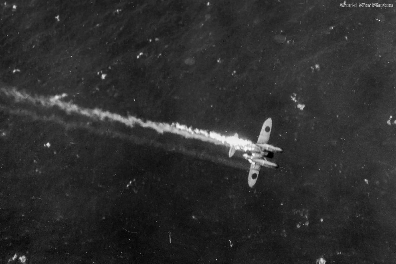 VPB-117 PB4Y1 Shooting Down an E13A Jake 1944