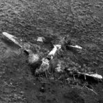 Camouflaged Mitsubishi G4M Betty in Philippines – recon photo of 5th AF