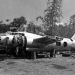 G4M Rikko captured at Clark Field before tests