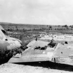 Tinian airfield in July 1944
