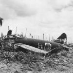 Wreckage of Japanese Mitsubishi G4M1 Betty '336' of the 705 Kokutai June 1943