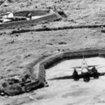 betty bombers in aircraft revetments