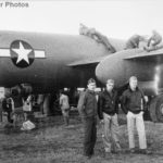 Gis inspecting a captured G8N1 1945