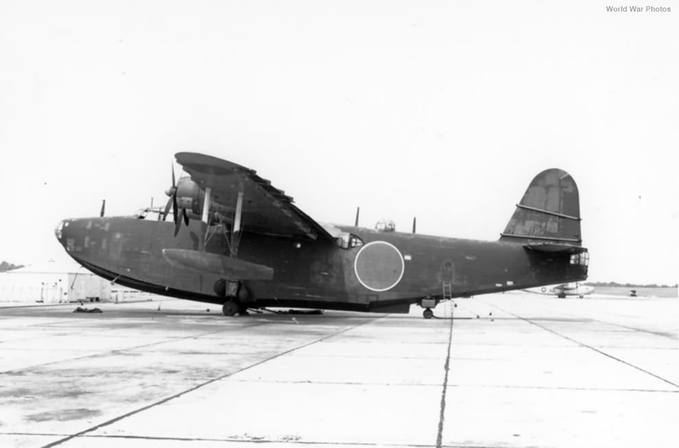 Captured Kawanishi H8K2 2