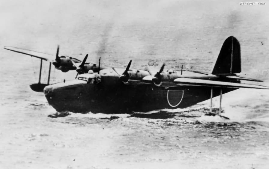 Imperial Japanese Navy flying boat H8K1