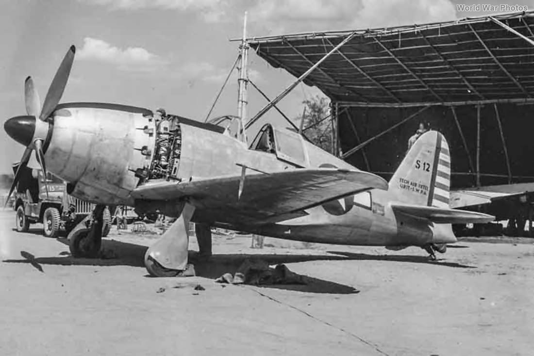 J2M3 Raiden in US Markings Clark Field 45 4