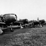Captured J2M and A6M September 21, 1945