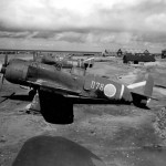 "Kawasaki Ki-100 ""078"" ""296"" of the 59th Sentai found in Japan By US forces 1945"