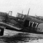 """Kawasaki Ki-100 I-Ko white """"177"""" of the 2nd Chutai, 59 Sentai, Ashiya Kiusiu, 1945"""