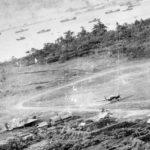 J1N1 of the 251st Kokutai and Ki-21 bombers Rabaul 2 November 1943