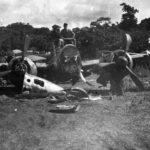 """Wreckage of Ki-21 """"Sally"""""""