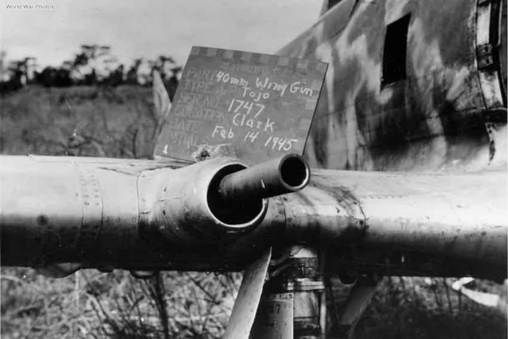 40mm Hu-301 Ki-44 1945