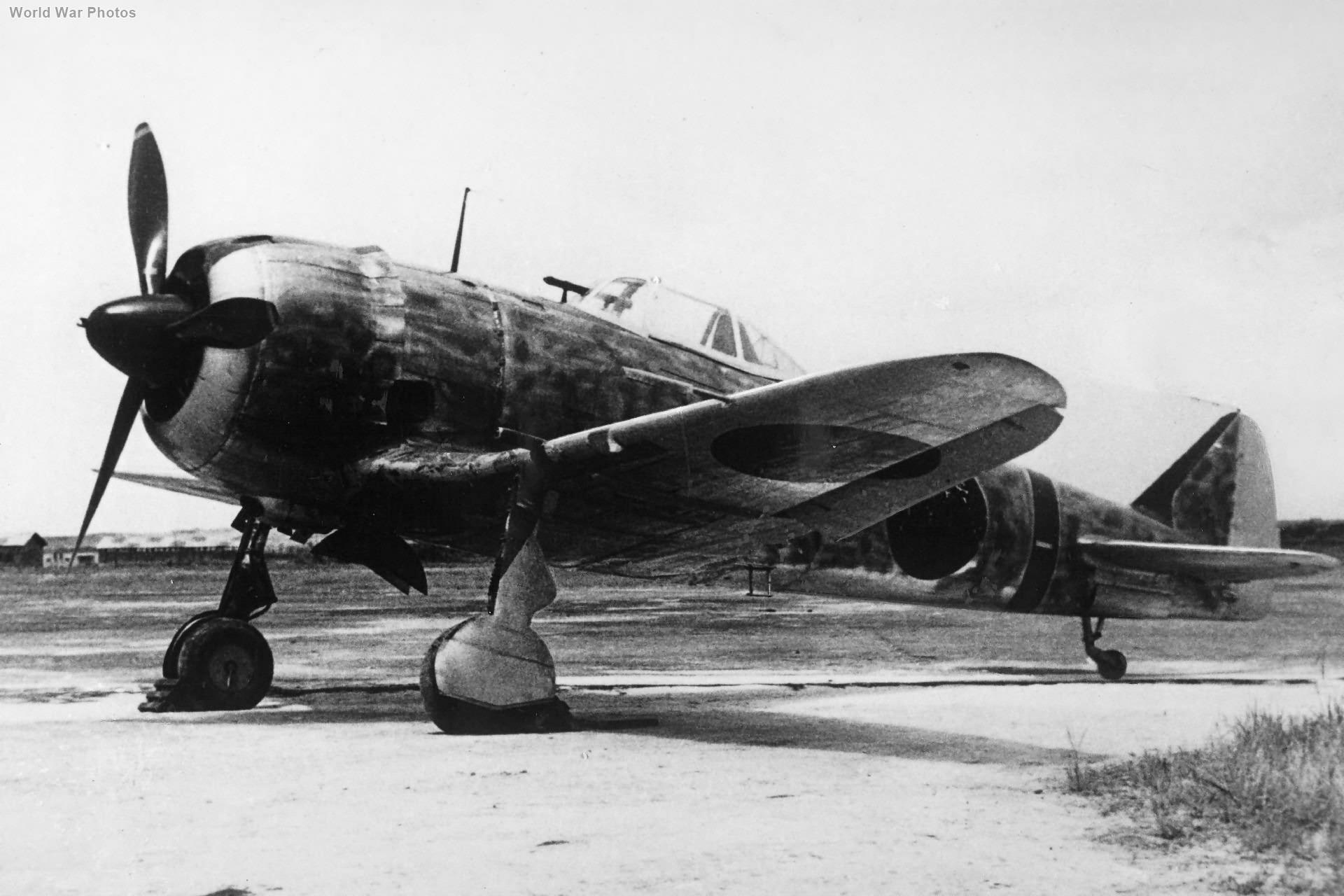 Ki-44 85 Sentai China 1943