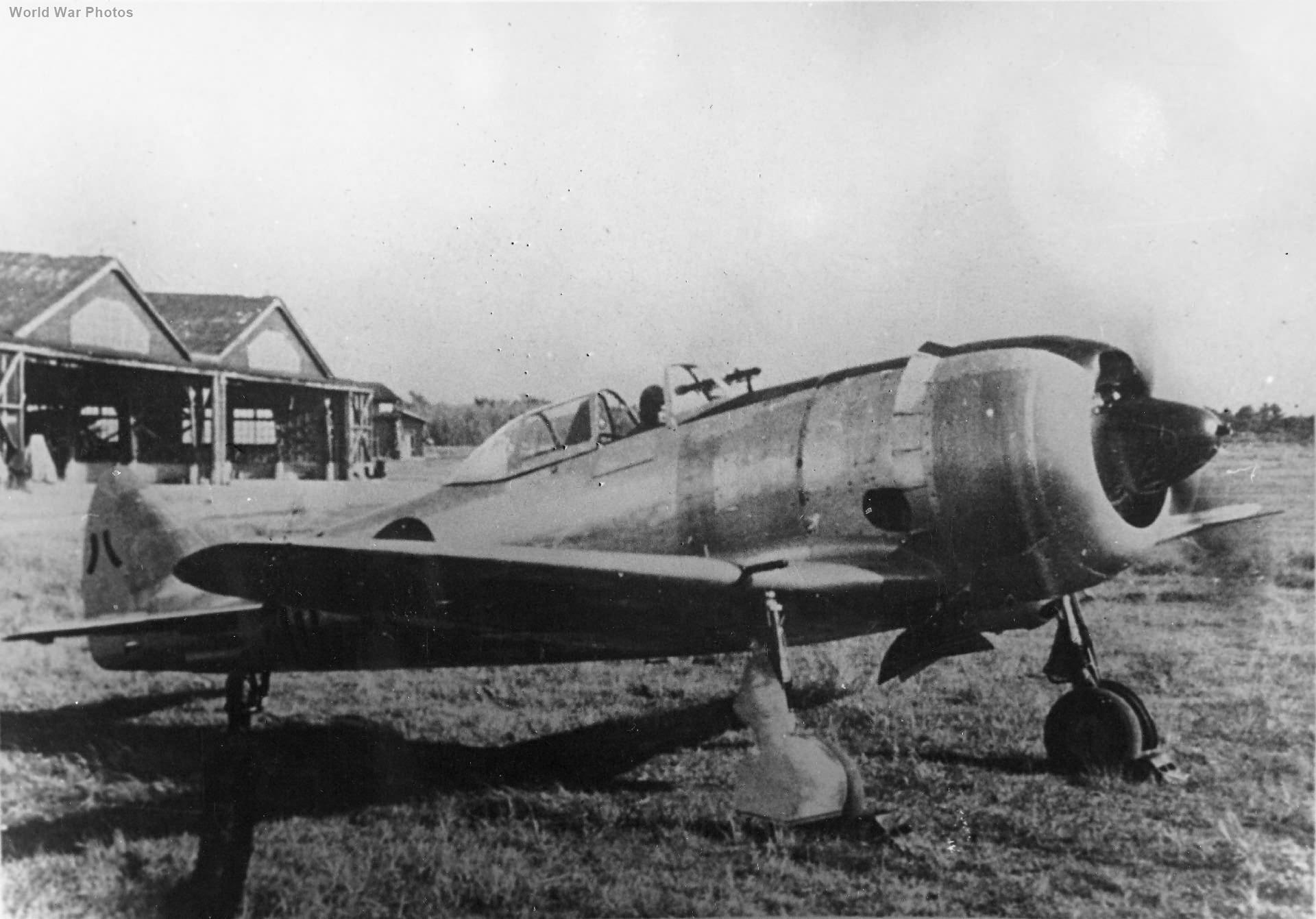 Prototype Nakajima Ki-44-III at Fussa
