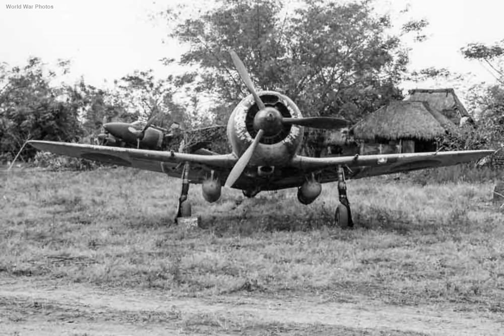 Ki-44 IIb 22 Sentai Clark Field feb1945