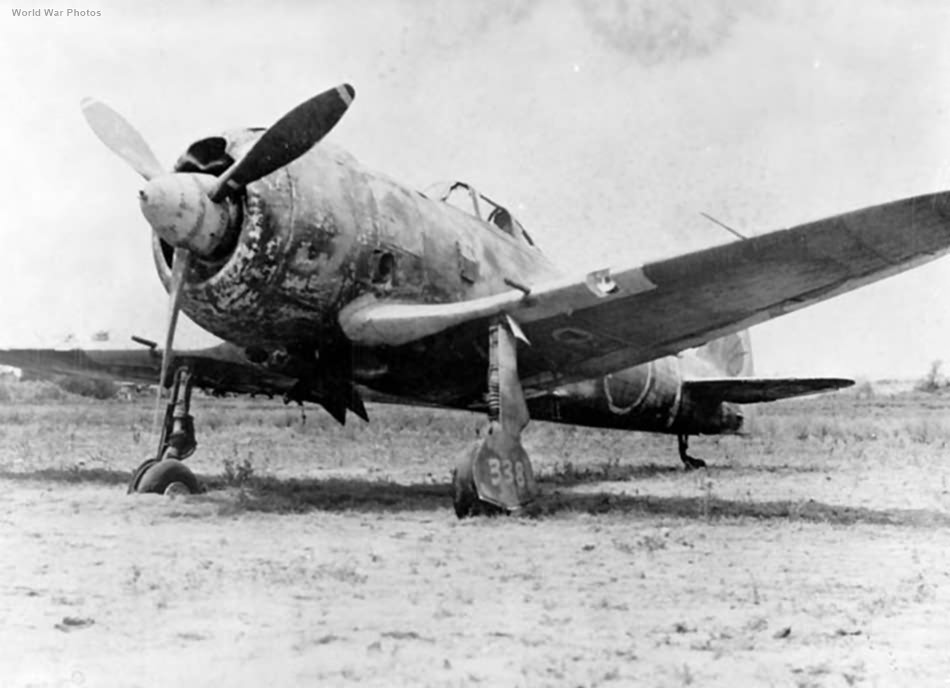 Ki-44 IIb 246 Sentai at Clark Field 1945