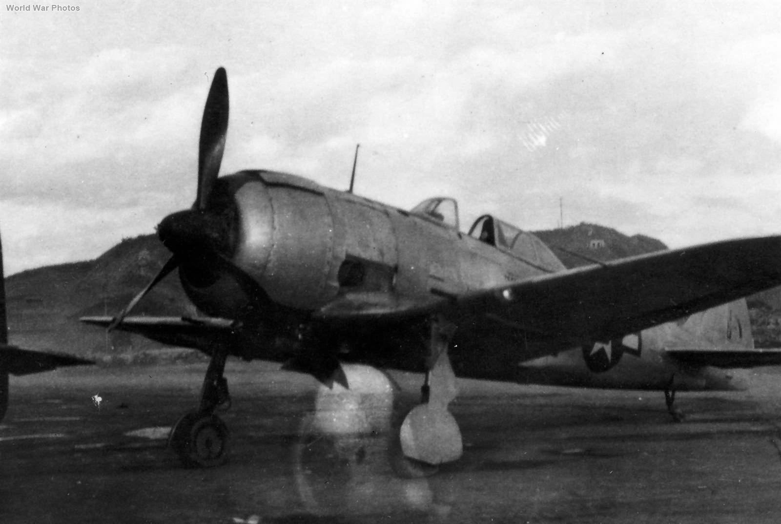Nakajima Ki-44 Shoki Captured in Japan 1945